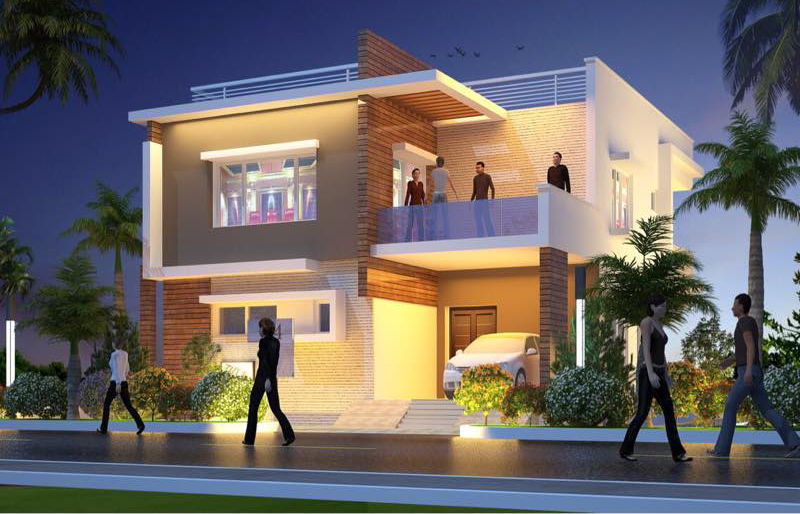 Elevations for iris luxury homes