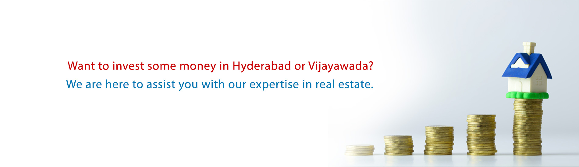 Invest in Real estate in Hyderabad and Vijayawada